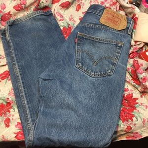 Levi's Jeans - Levi's 501s made in Mexico